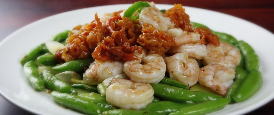 Shrimp with Vegetable